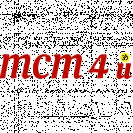MCM4u ¯\_(ツ)_/¯