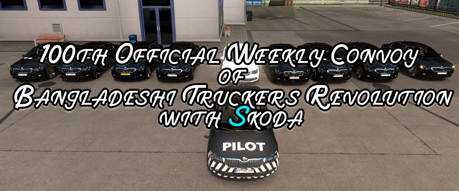 100th Official Weekly Convoy of Bangladeshi Truckers Revolution