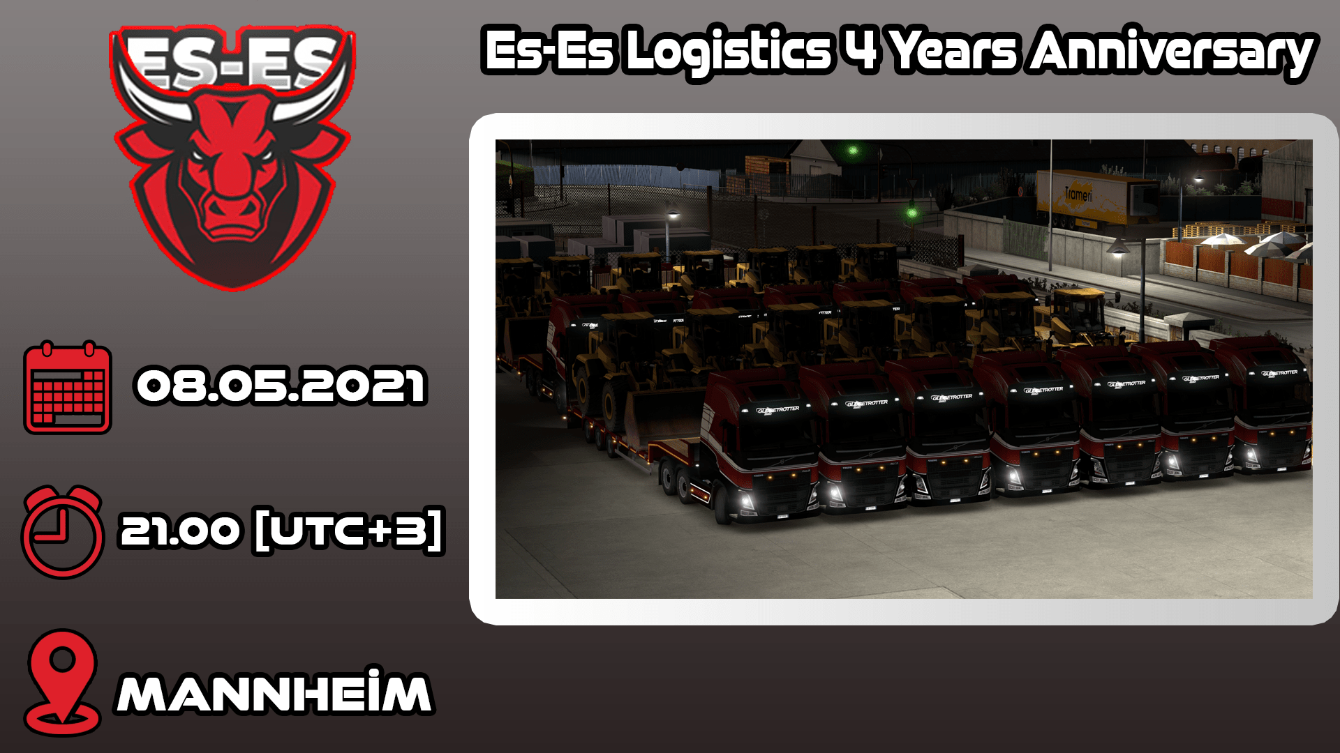 Es-Es Logistics 4 Years Anniversary Convoy