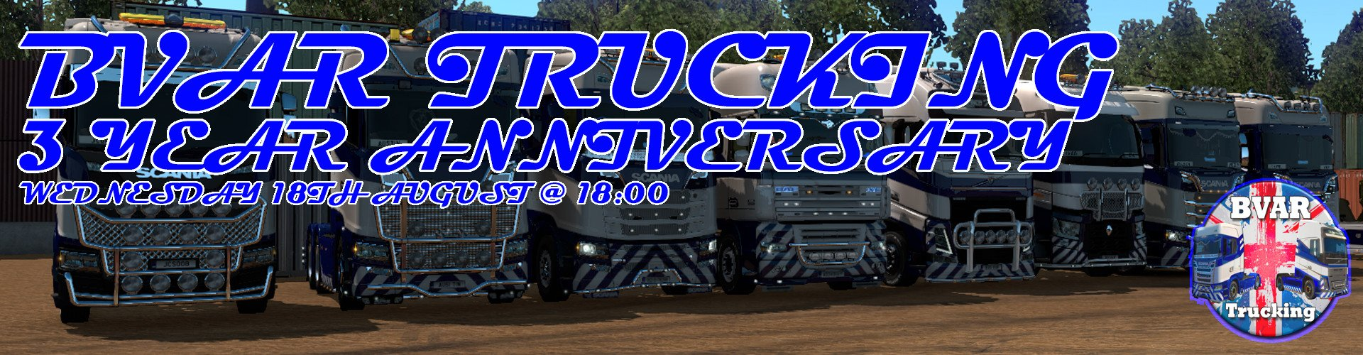 BVAR Trucking 3 Year Anniversary