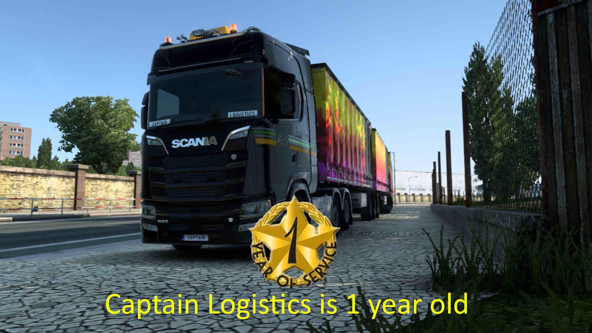 Captain Logistics 1 year anniversary