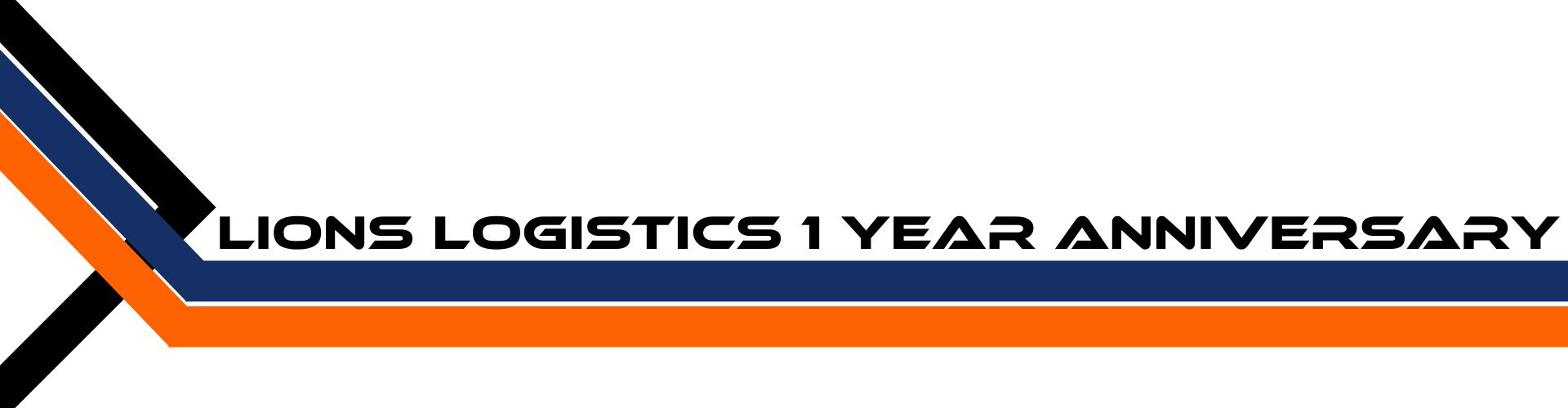 Lions Logistics UK 1 Year Anniversary Convoy