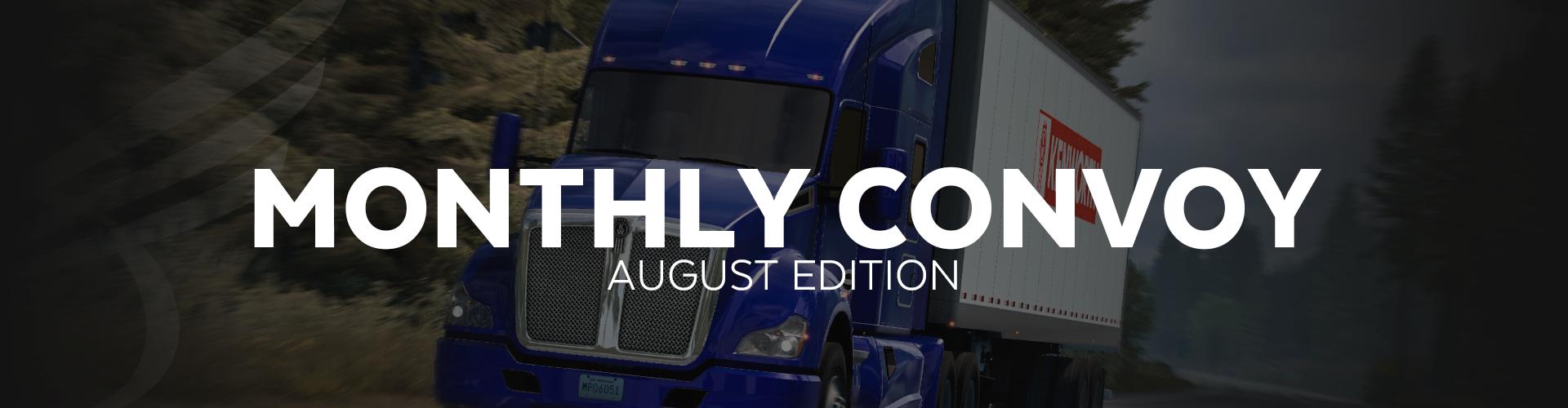 ALLIANCE Convoy - August Edition