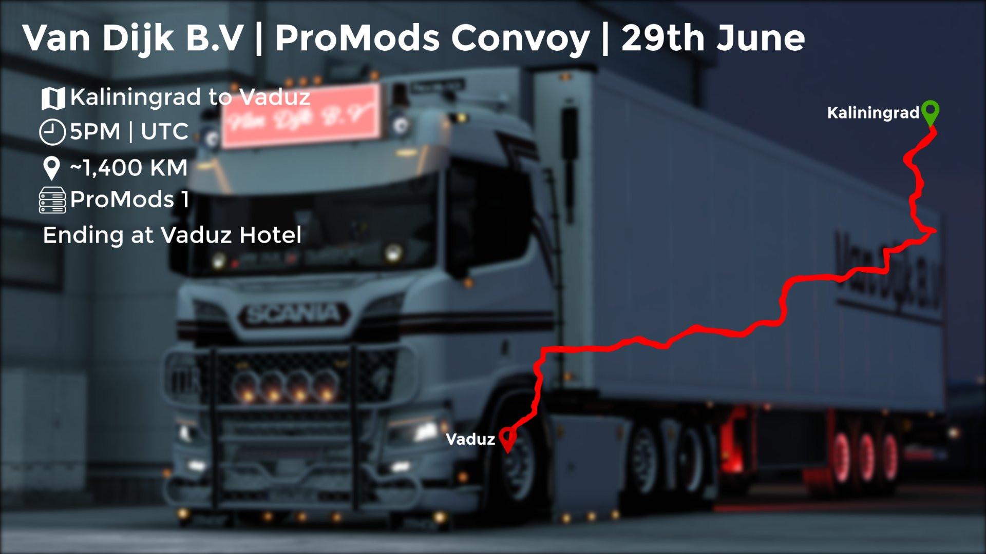 Van Dijk B.V Promods Convoy