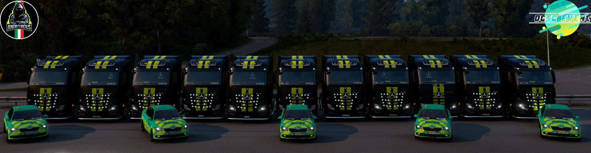 Anonymous Truckers ITA October Convoy