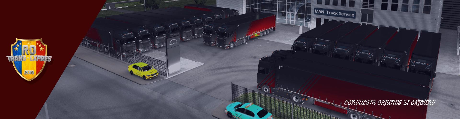 American Truck Simulator Convoy