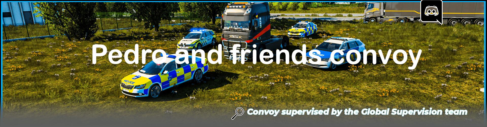 Pedro and friends convoy / Birthday