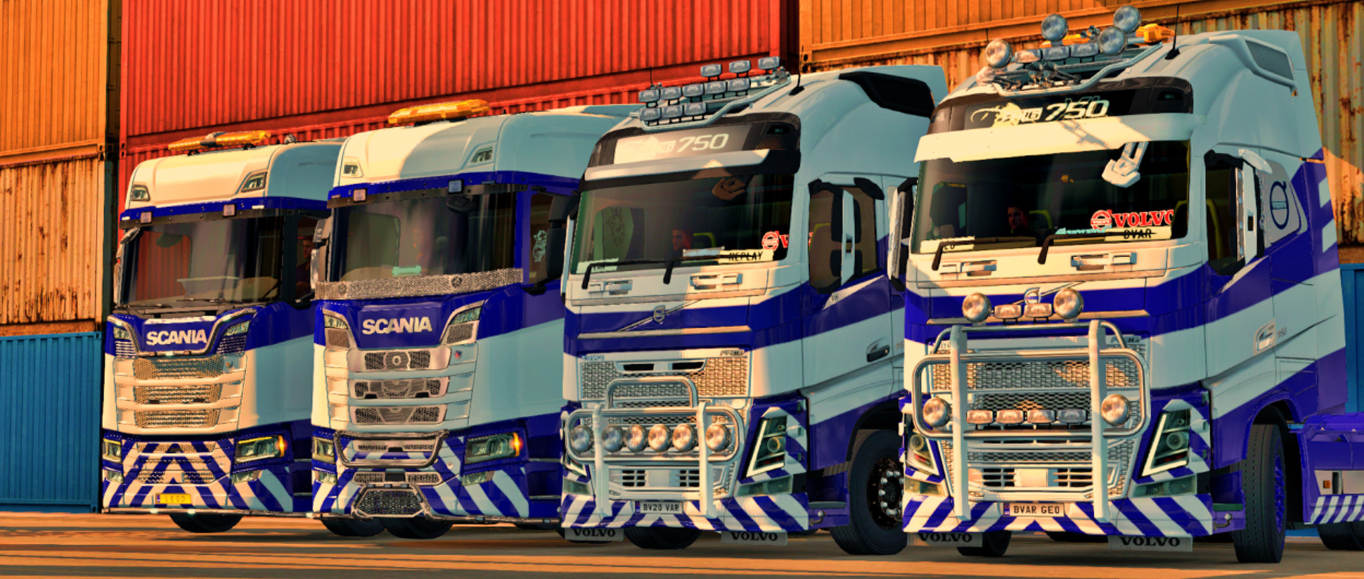 BVAR Trucking VTC Weekly Convoy