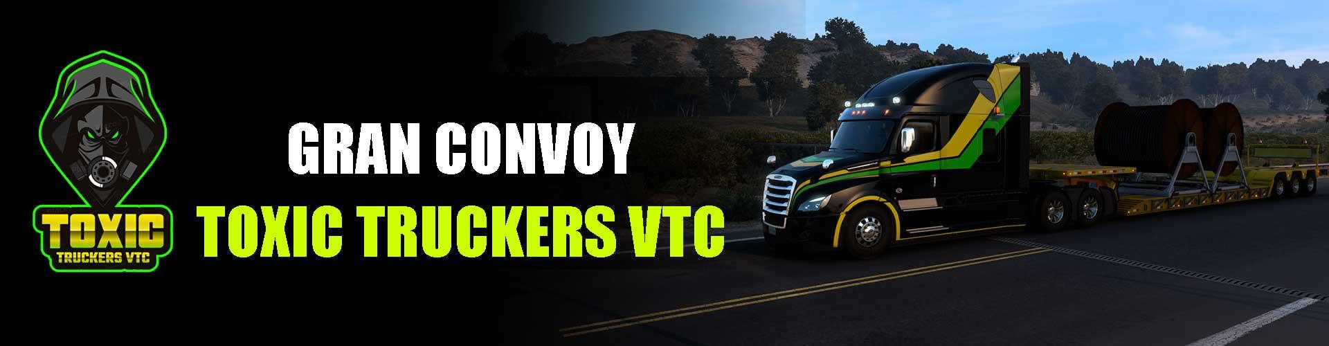 CONVOY OFICIAL  TOXIC TRUCKERS VTC