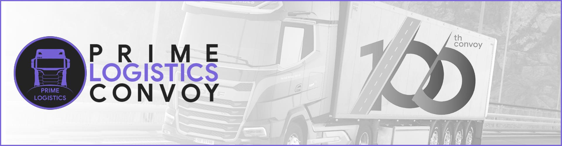 🟣 Prime Logistics Convoy #100 - 100th ETS2 Special!