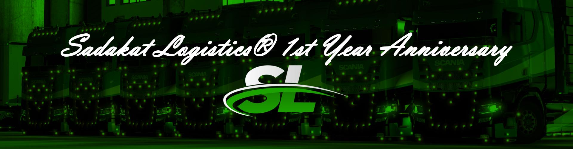 Sadakat Logistics® 1st Year Anniversary