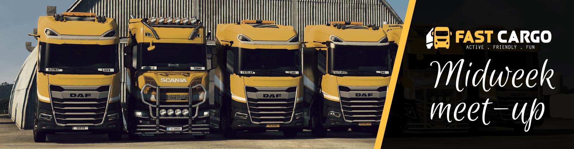 Fast Cargo Midweek meet-up