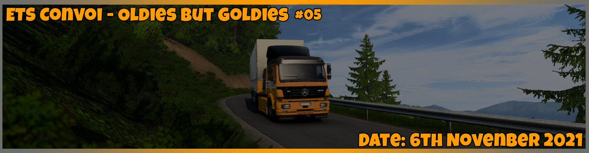 🚚 KirkenesChaosClub Konvoi - Oldies but Goldies 🚛 #05