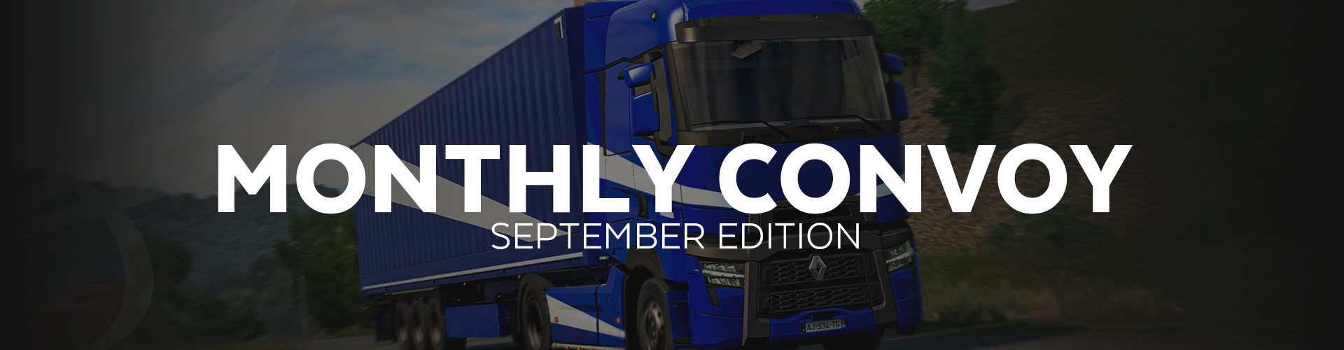 ALLIANCE Convoy - September Edition