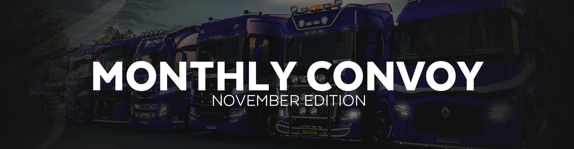 ALLIANCE Convoy - November Edition