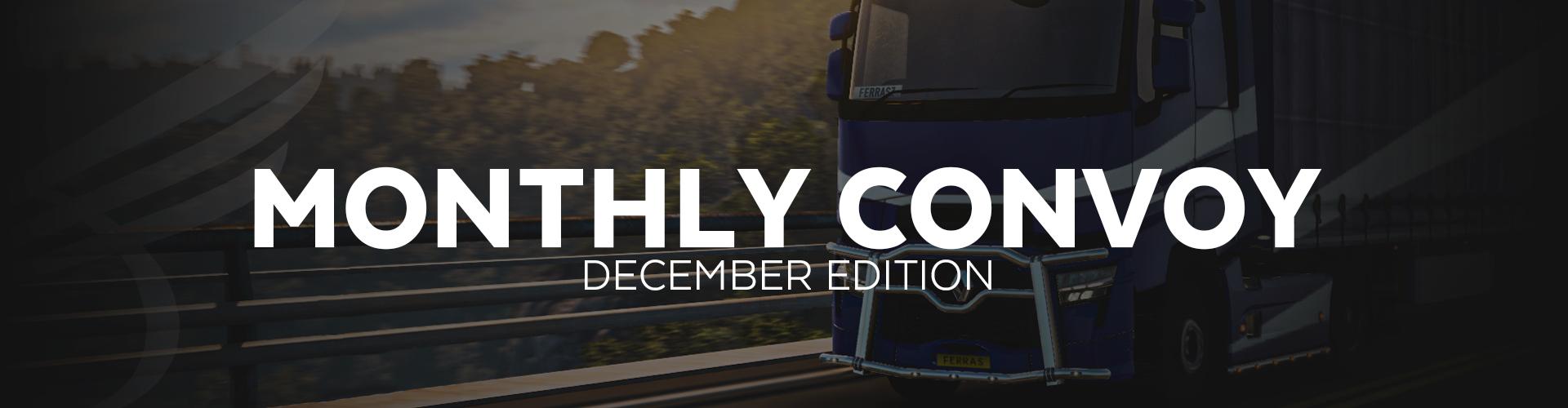 ALLIANCE Convoy - December Edition