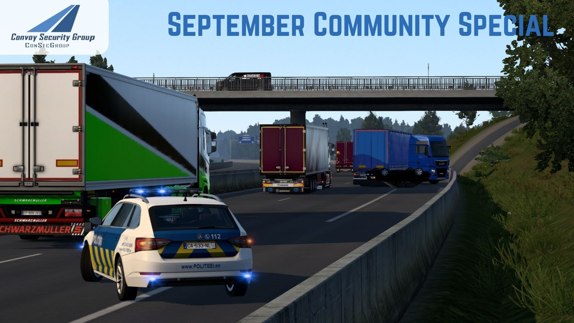 🚓🚚 ConSecGroup Community Special September with Real Op's 🚚🚓