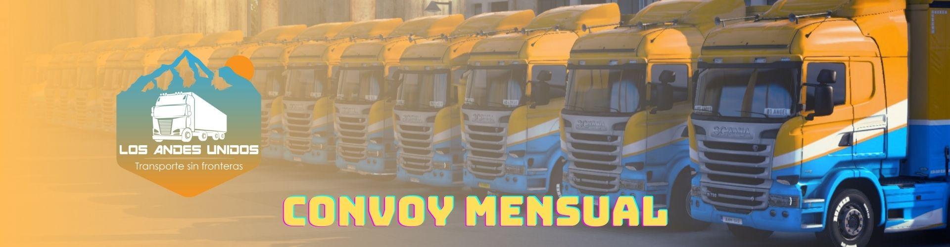 Los Andes Unidos VTC   Convoy Mensual   17 de Diciembre