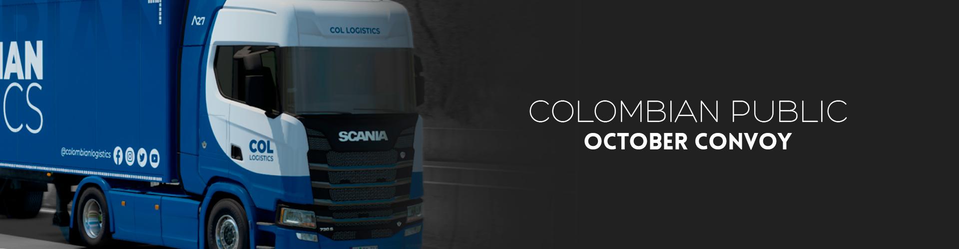 Colombian Logistics October Convoy #11