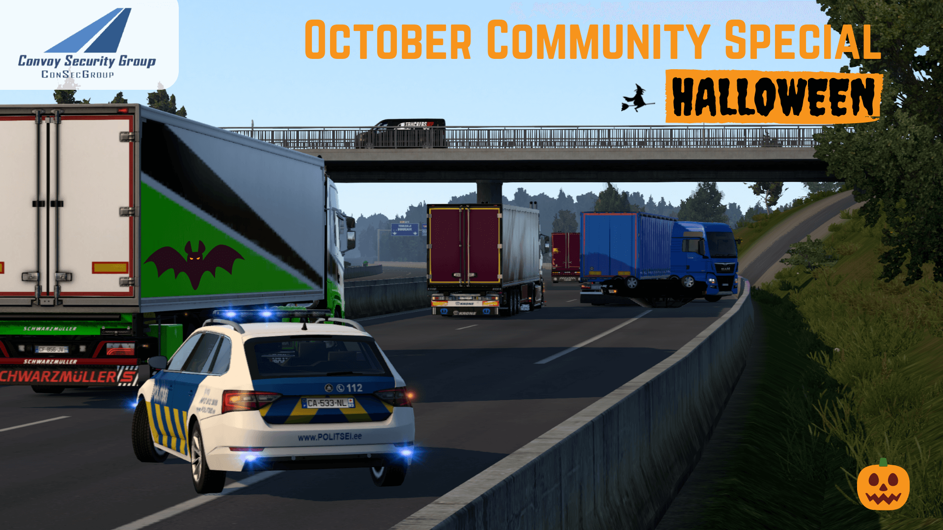 🎃🚓🚚ConSecGroup Halloween Community Special with Real Op's🚓🚚🎃