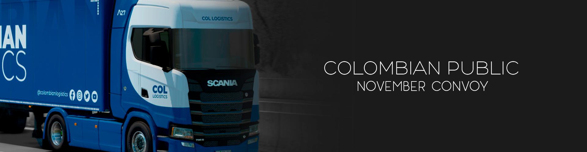 Colombian Logistics November Convoy #12