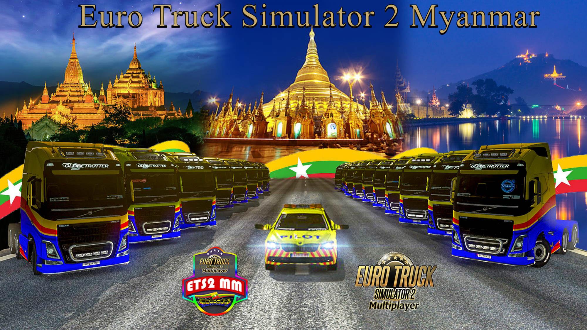 ETS2MM Thadingyut Convoy