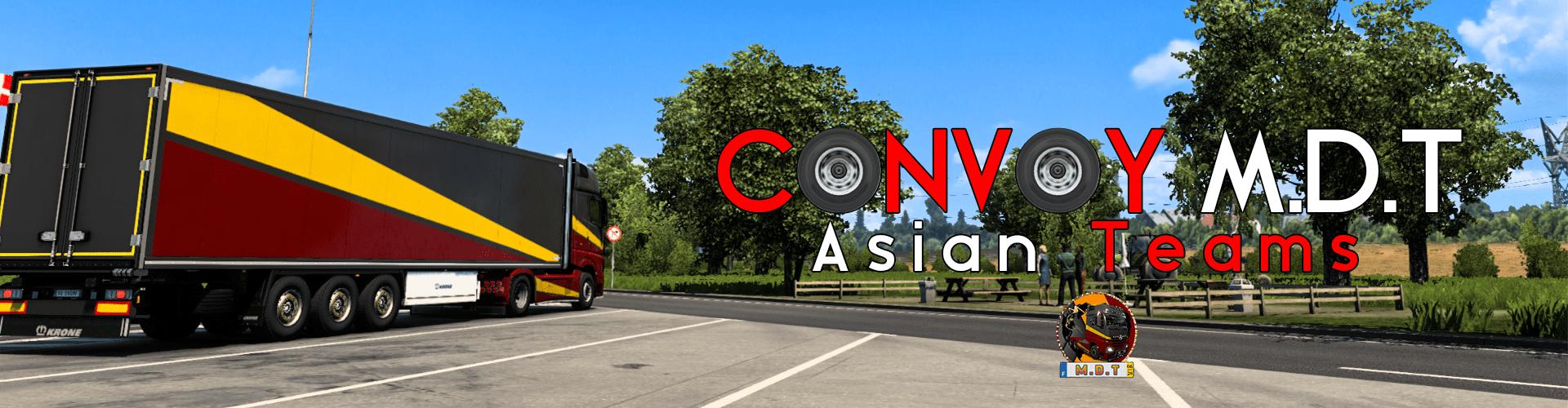 CONVOY M.D.T - ASIAN TEAMS
