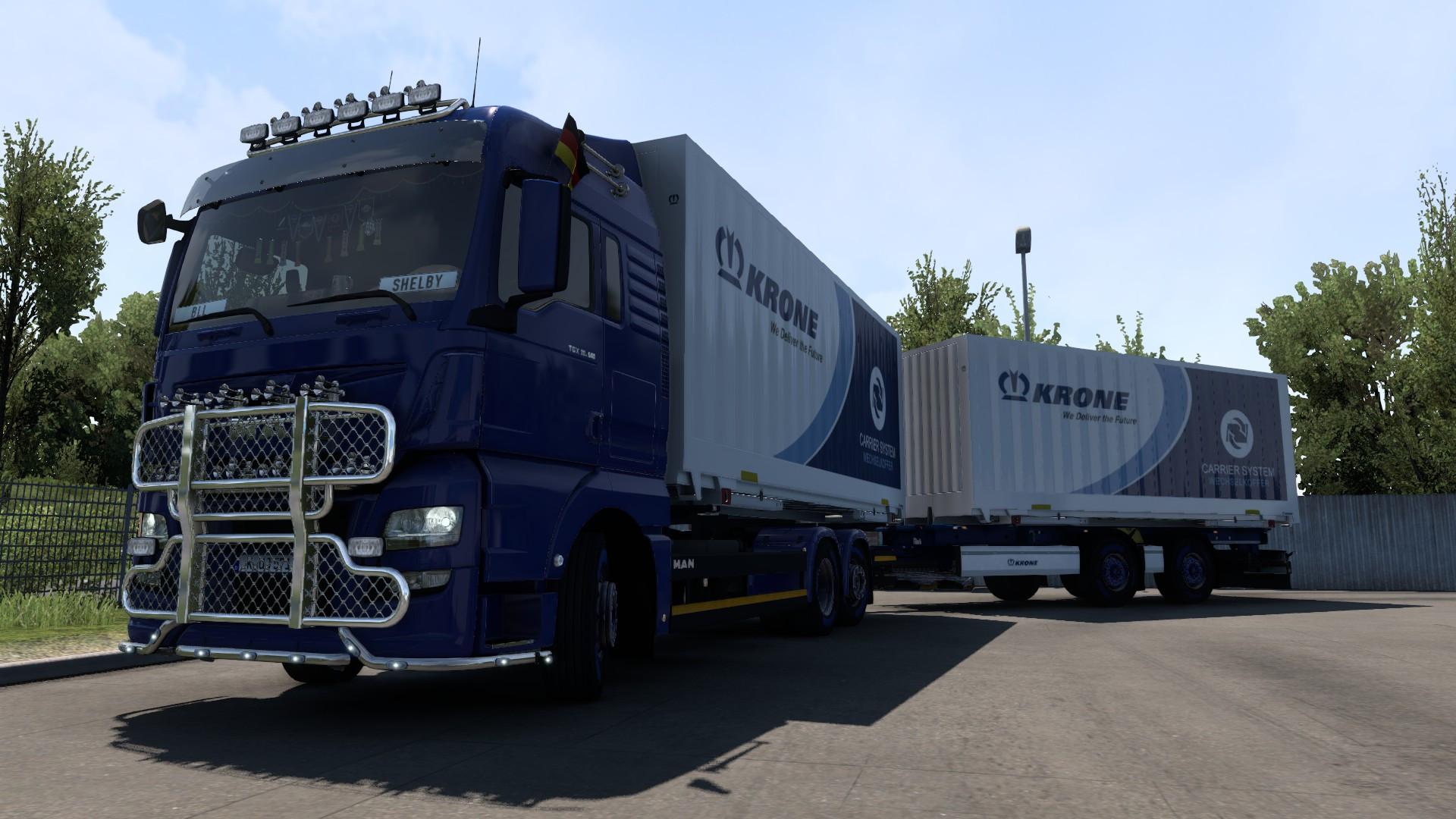 Jubiläums-Convoy 1 Jahr BLL Boehme-LKW-Logistik