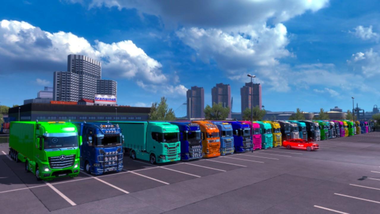 ETS2MCG - Trucks Colorful Convoy