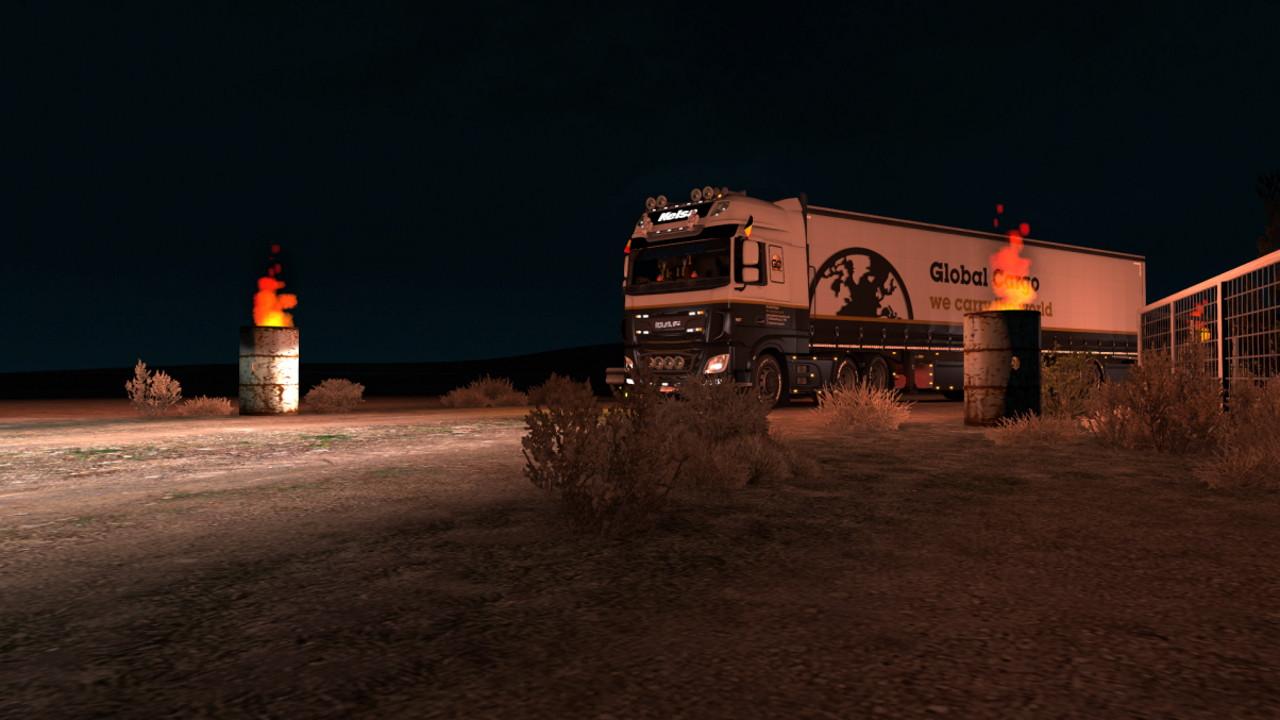 Burning Desert Picture by Jonas77