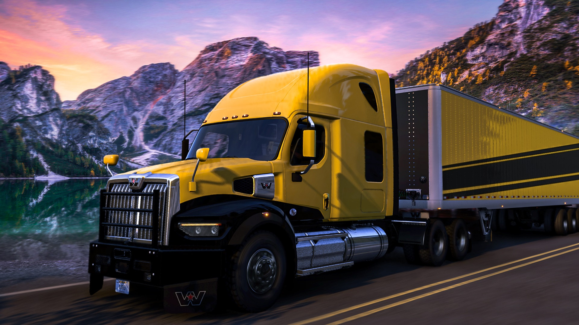 Exploring the beautiful state of Idaho in this stunning, American made Western Star 49X!